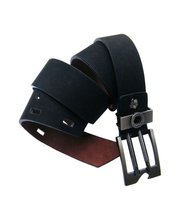 Winsome Deal New Design Stylish 2 Pin Buckle Non Leather Belt