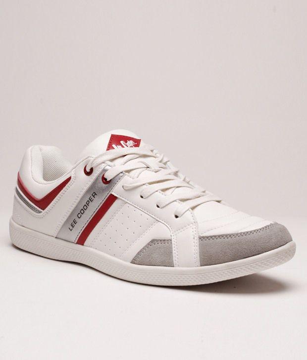 Lee Cooper White Sneakers - Buy Lee