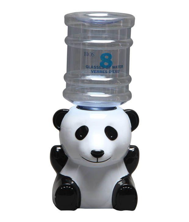 White Panda Mini Water Dispenser