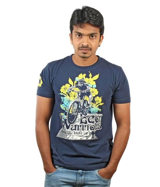 Menthol Men's T- shirt - SS MES-1094 (Navy)