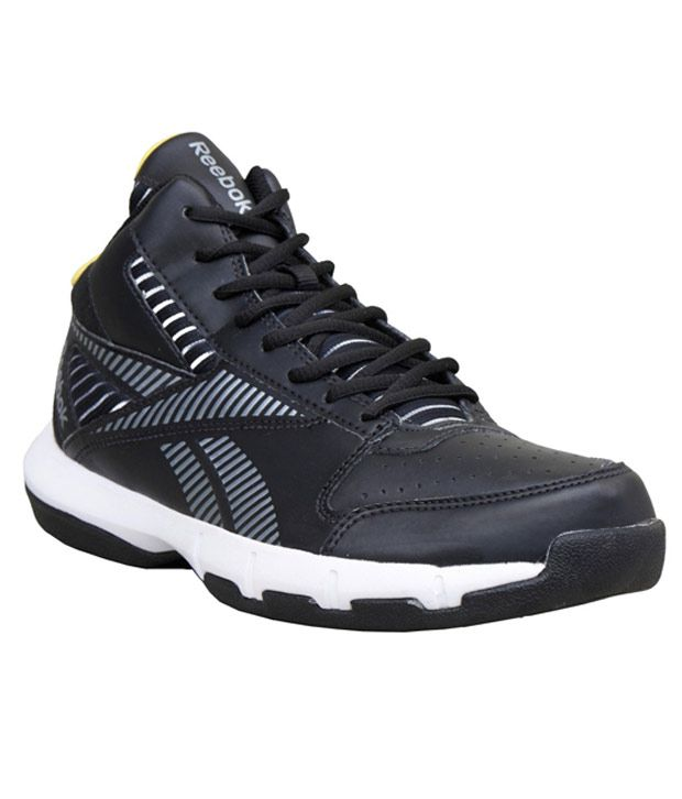 b154faebf06 Reebok Fury Black Basketball Shoes - Buy Reebok Fury Black Basketball Shoes  Online at Best Prices in India on Snapdeal