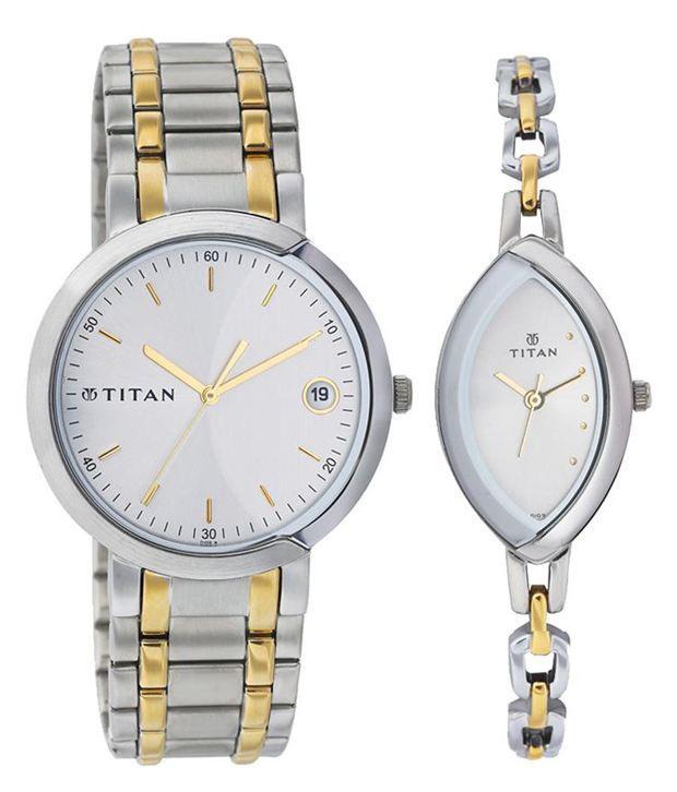 0ecfda428 Titan Bandhan NE19632963BM01 Couple Watches Price in India  Buy Titan  Bandhan NE19632963BM01 Couple Watches Online at Snapdeal