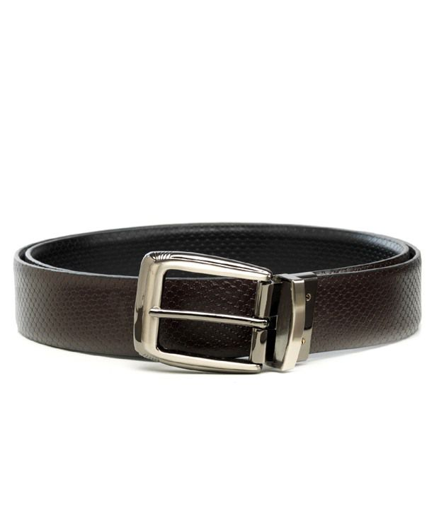 Hidecraft Trendy Black - Brown Reversible Belt