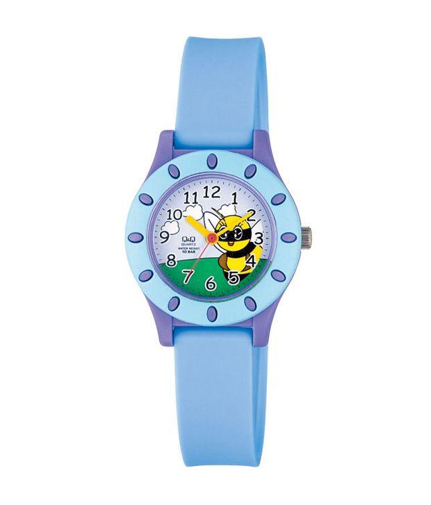 Q&Q Blue Kids Watch VQ13002