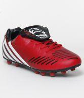 Nicholas Bright Red & Black Sports Shoes