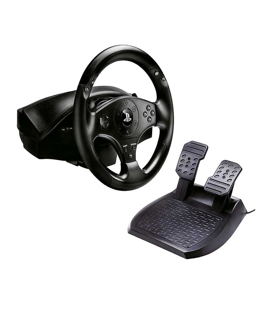 buy thrustmaster t80 racing wheel ps3 ps4 online at best. Black Bedroom Furniture Sets. Home Design Ideas