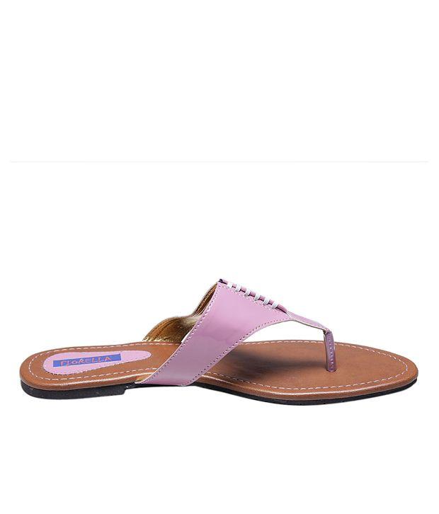 Fiorella Attractive Pink Flats