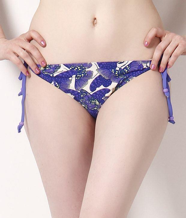 FCUK Blue Bikini Brief Bikini Brief