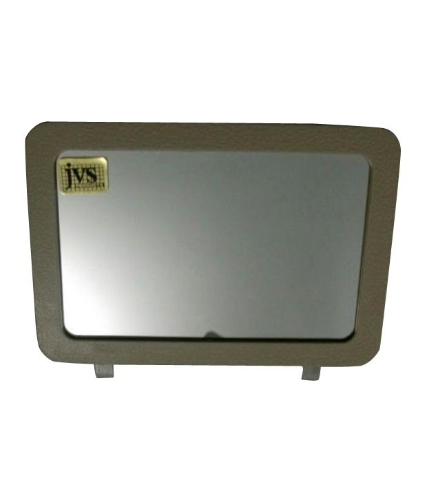Per S Hub Car Vanity Mirror Beige