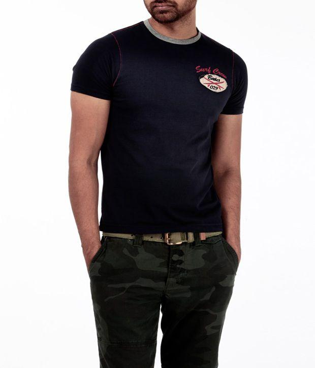 Basics 029 Cool Navy T Shirt
