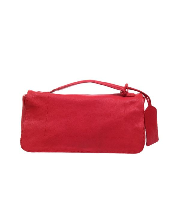 Stylogy Little Pal Red Leather Satchel