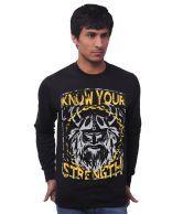 Unisopent designs Classy Black   Sweatshirt