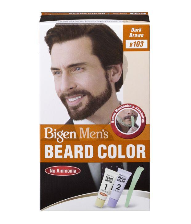 Bigen Men S Beard Color B 103 Dark Brown Buy Bigen Men S