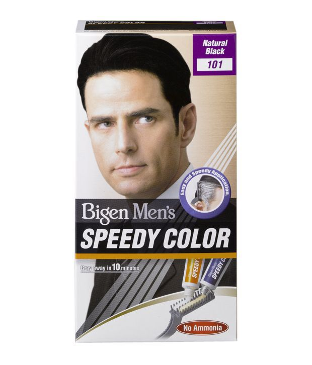 Bigen Men39s Speedy Hair Color 101 Natural Black Buy Bigen Men39s Spee