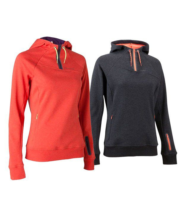 Quechua ARPENAZ 300 HOOD LADY Hiking WARM WEAR 8284793