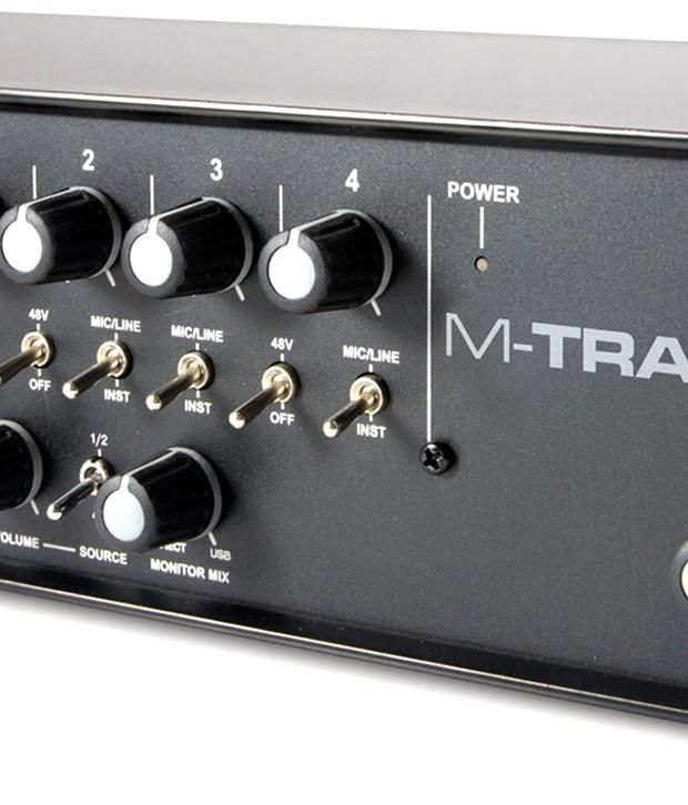 m audio m track quad 4 x 4 usb audio interface with pro tools express and ignite by air 4 x xlr. Black Bedroom Furniture Sets. Home Design Ideas