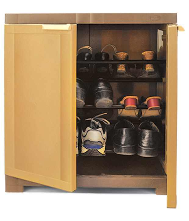 nilkamal freedom mini shoe cabinet 09 sandybrown dark brown buy rh snapdeal com