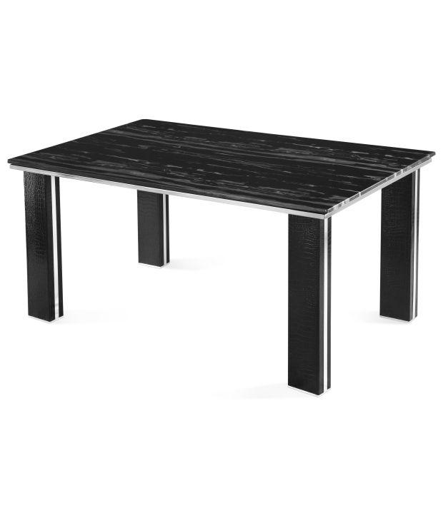 Nilkamal Monaco Dining Table Black Buy Nilkamal Monaco Dining Table Black O