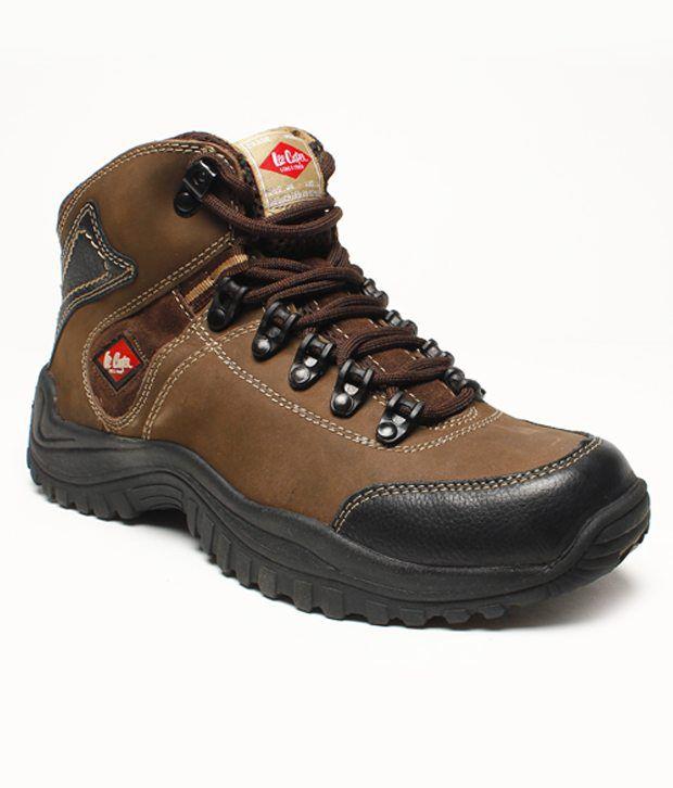 Lee Cooper Adventure Brown Boot