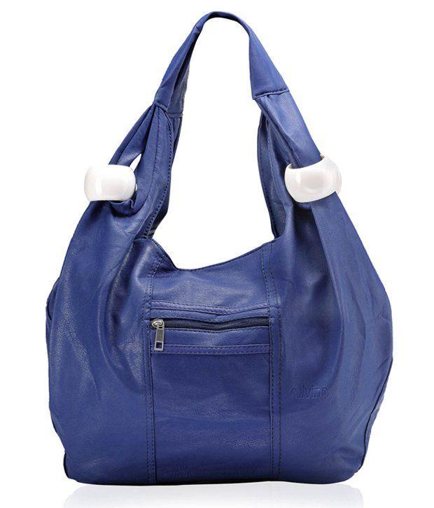 Calvino Swanky Blue Shoulder Bag