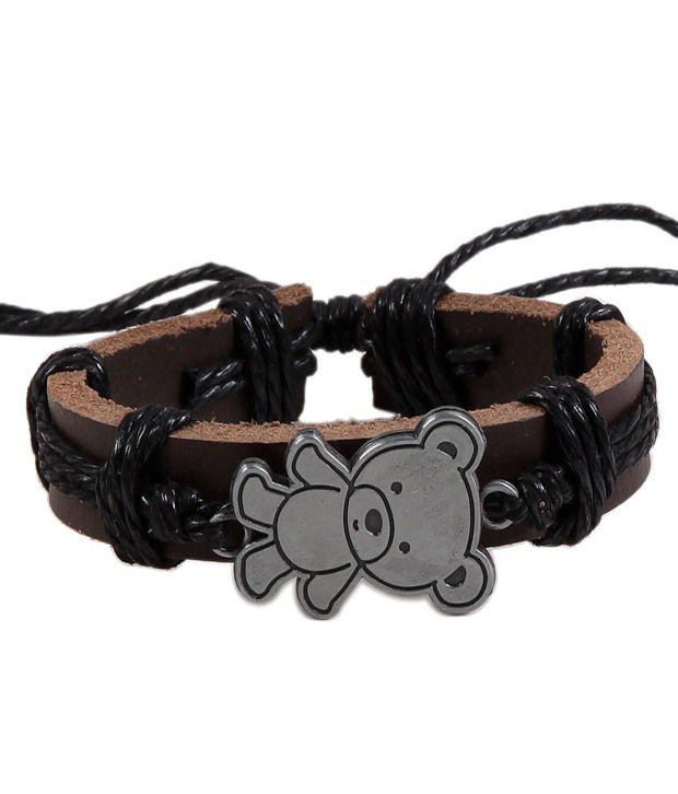 Antiformal Brown Unisex Modish Bracelet