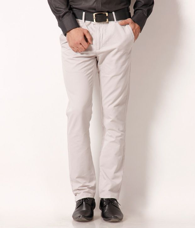 Ruggers Off White Chinos