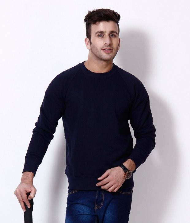 Casual Tees Dark Navy Sweatshirt