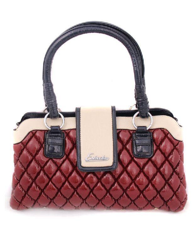 Esbeda 6818-Maroon Shoulder Bag