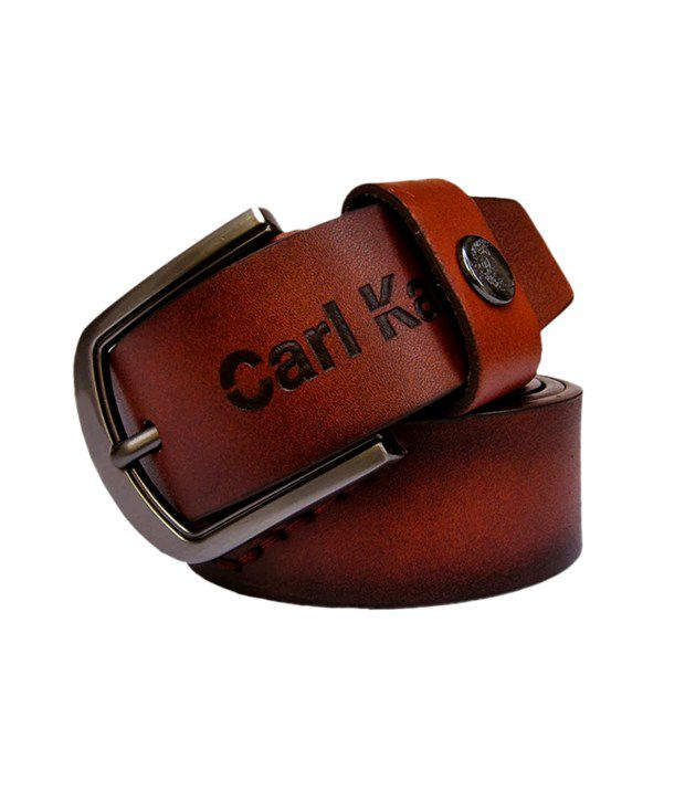 Winsome Deal Men's Brown Synthetic Leather Casual Belt - CSLB14