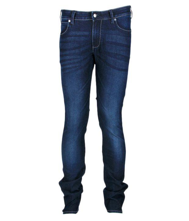 Wrangler Dashing Blue Faded Jeans