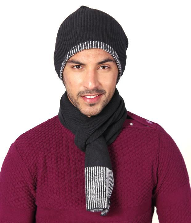 a579dddb Club York Grey Black Muffler And Cap: Buy Online at Low Price in India -  Snapdeal