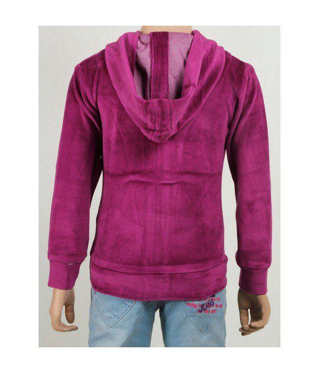 Purple Nasty Green Sweatshirt For Kids