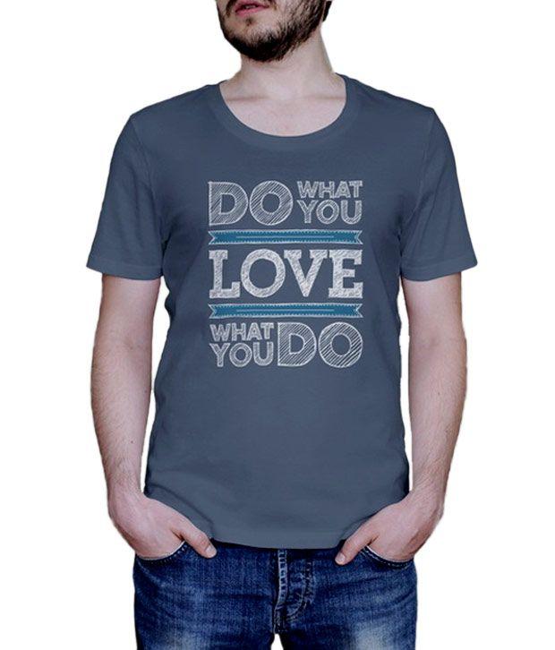 Skizze Do What U Love T-Shirt