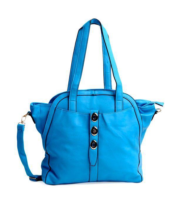 ADISA Stylish Blue Hand Bag