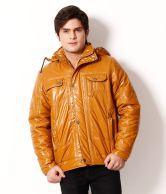 Fort Collins Yellow Hoodie Jacket For Men