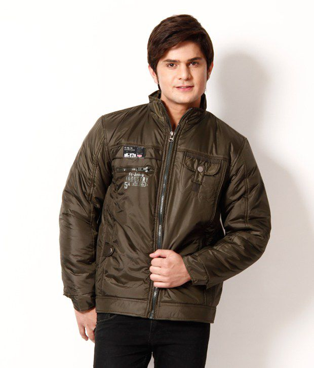 696e87800 Fort Collins Olive Green Jacket For Men