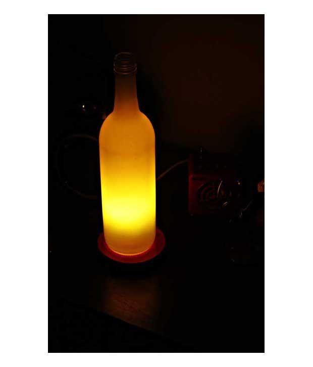 Kavi The Poetry Art Greenish Yellow Lamp