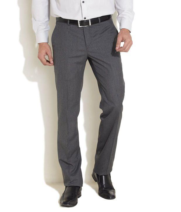 Excalibur Deep Grey Formal Trouser