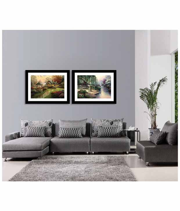 Everything Imported European Exquisite Park Mural Landscape Painting
