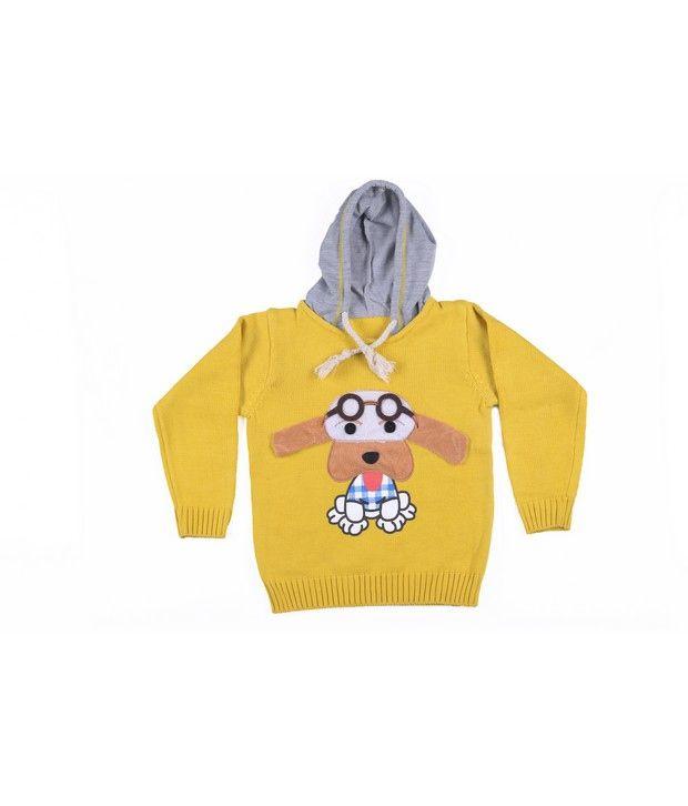 Jonez Yellow Jacket For Boys