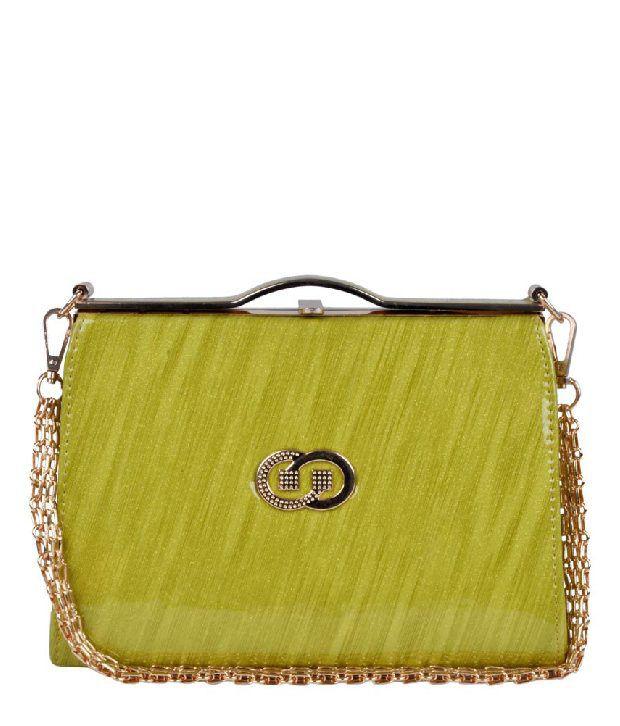 H.M HB1515-GREEN Satchel Bag