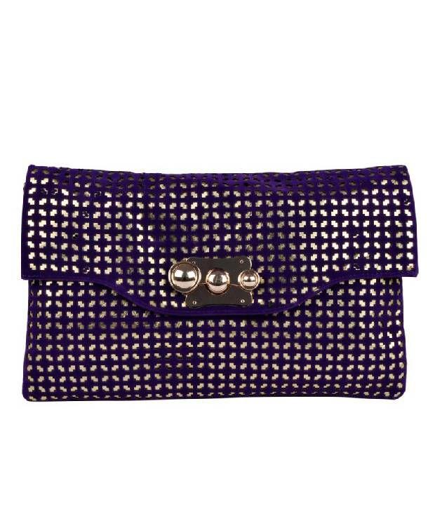H.M HB1516-PURPLE Sling Bag