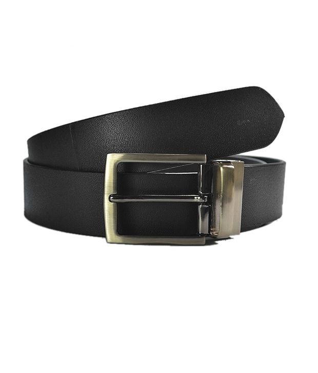 Royal Son Stylish Leather Belt- Black