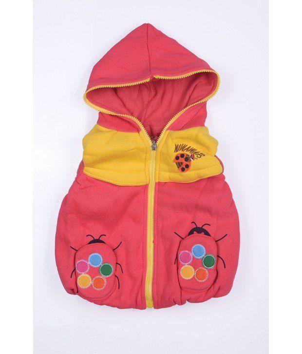 Jonez Red Jacket For Boys