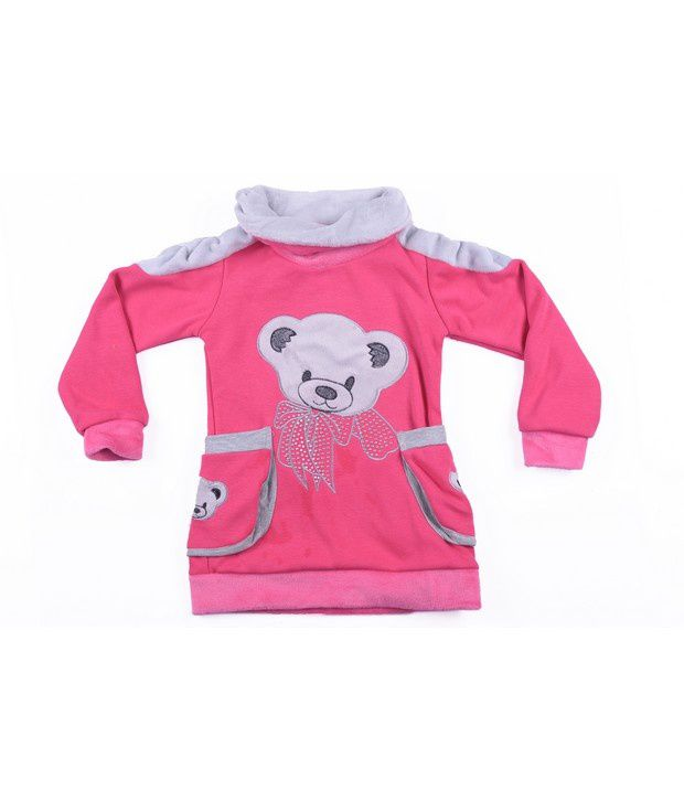 Isabelle Pink Sweatshirt For Girls