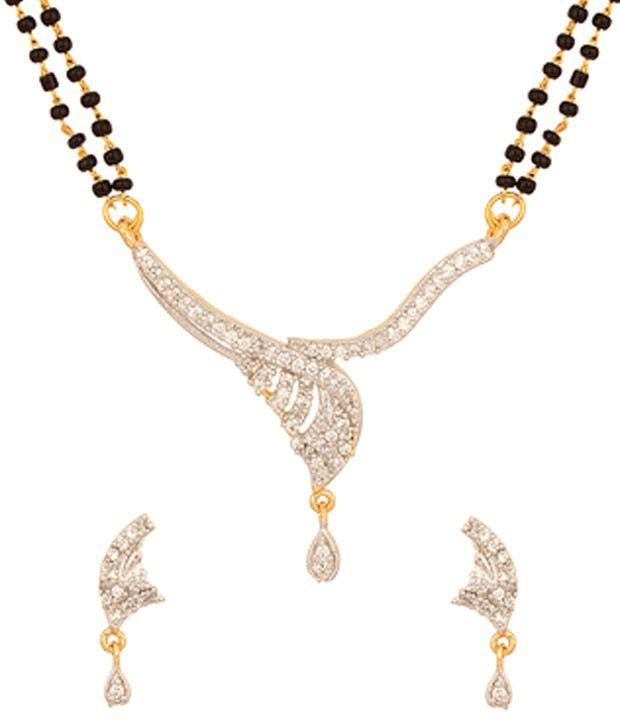 Voylla Mangalsutra Set With Exquisite Layered Pattern