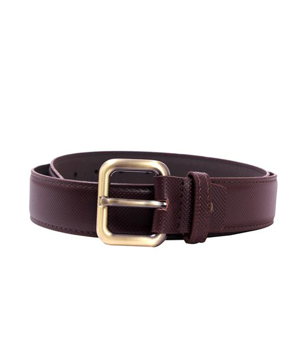 Pacific Gold 40 Mm Stylish Belt- Brown
