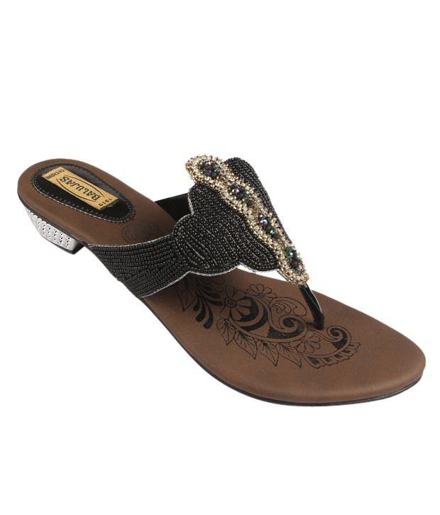 Balujas Stylish Black Heels