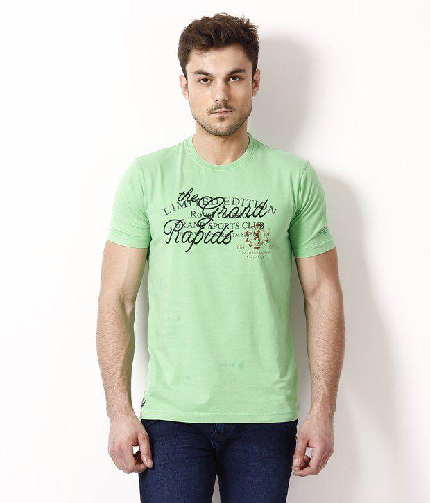 Octave Dashing Green T Shirt