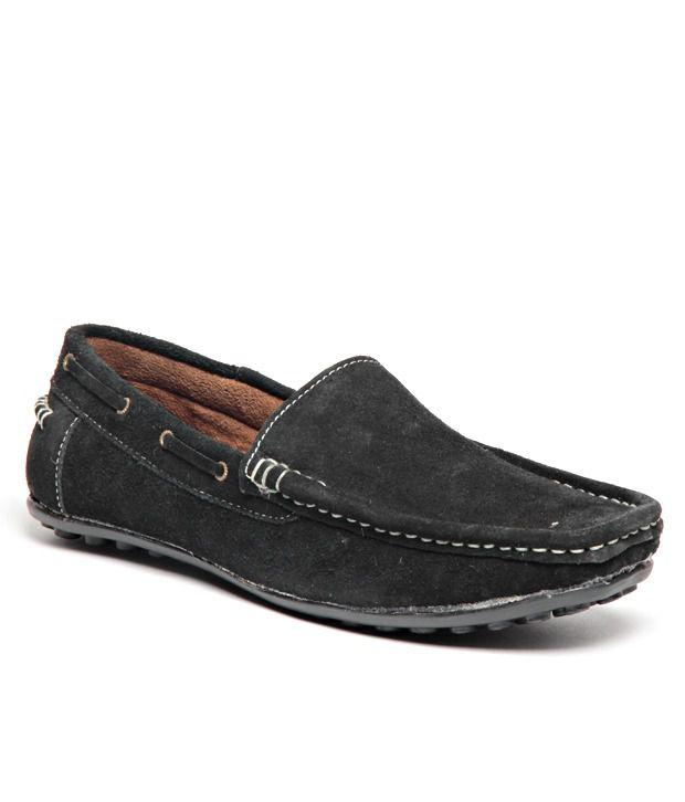 Pede Milan Black Loafers